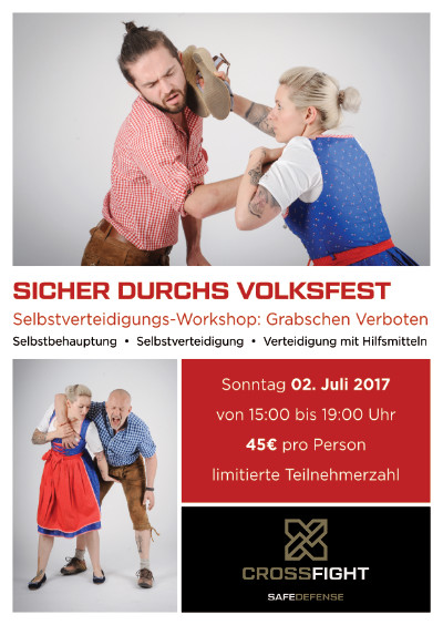 Selbstverteidigungskurs Gäubodenvolksfest Straubing
